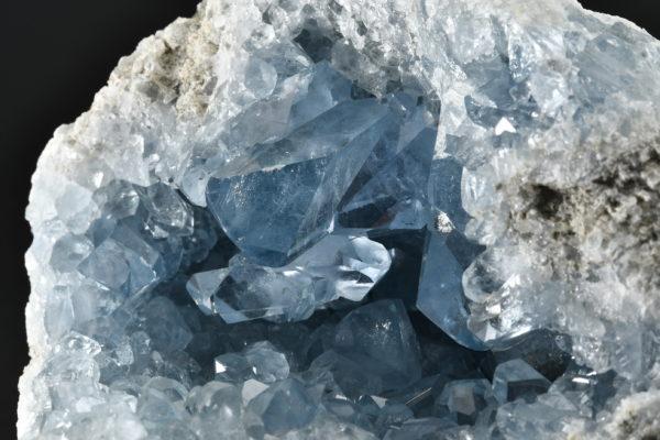 マダガスカル産 セレスタイト 原石 ジオード GA 863g