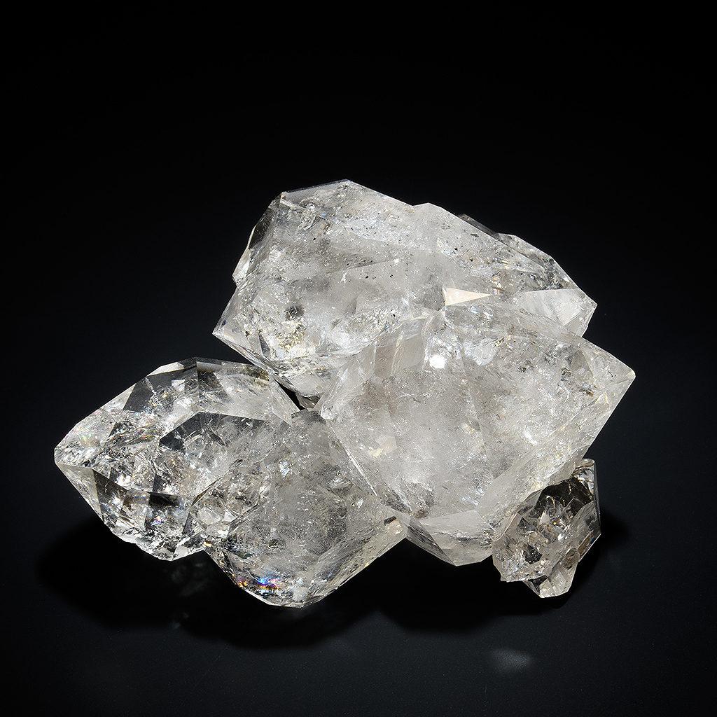 ハーキマーダイヤモンド 水晶 原石
